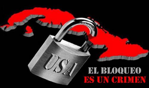 El bloqueo es un crimen
