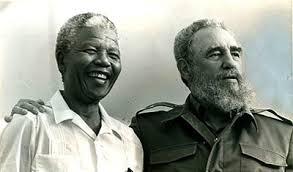 Fidel e Nelson Mandela
