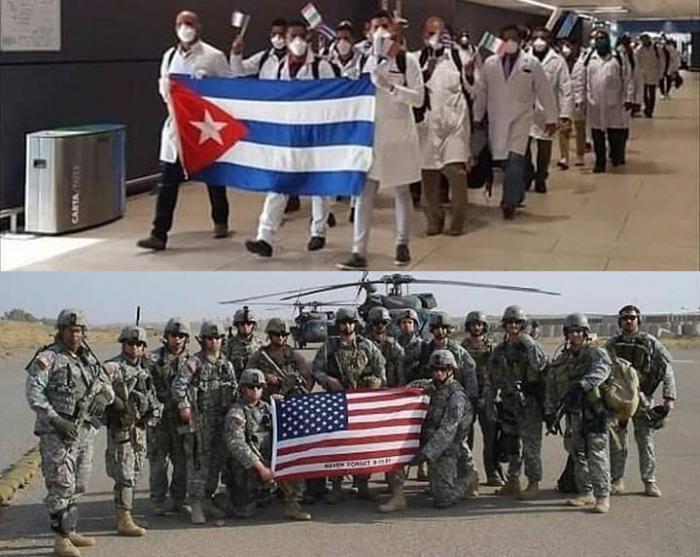 Medici di Cuba sbarcano a Roma