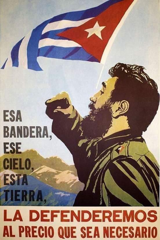 Poster Fidel Bandera