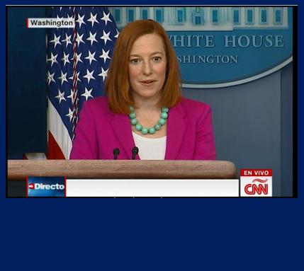 Segretaria della stampa della casa Bianca Jen Psaki