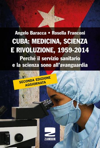 """Cover libro """"Cuba: Medicina, scienza e rivoluzione"""""""