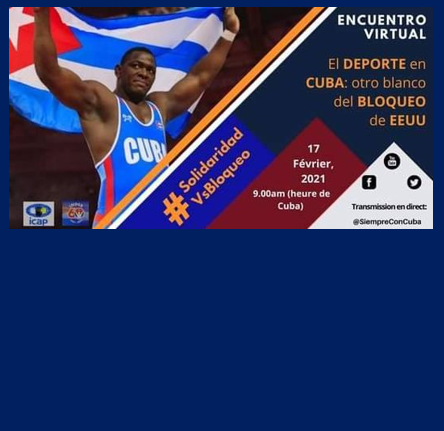 Evento sport on line Cuba