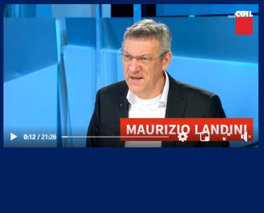 Maurizio Landini CGIL