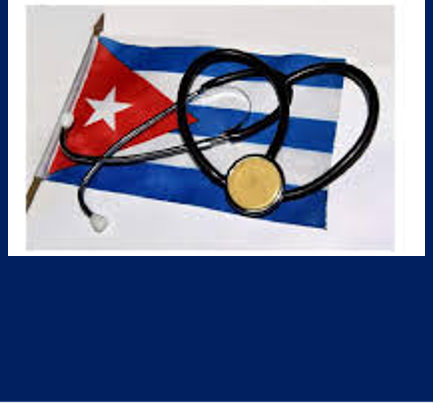 Simbolo per i  medici cubani a Panama