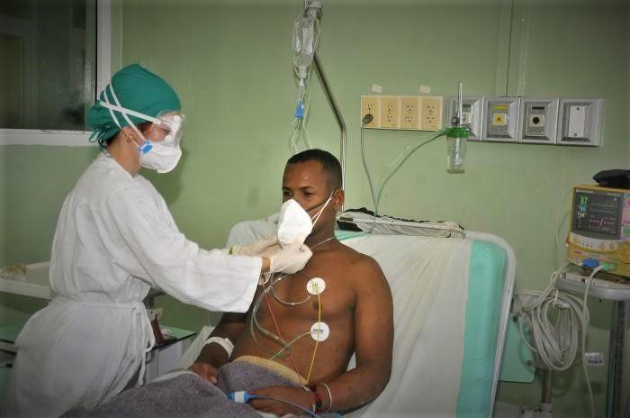 operatore sanitario cubano