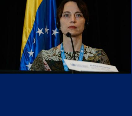 La relatrice speciale delle Nazioni Unite, Alena Douhan