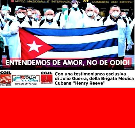 Diretta streaming CGIL Torino e Associazione Italia Cuba