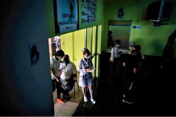 Ambulatorio medico a Cuba