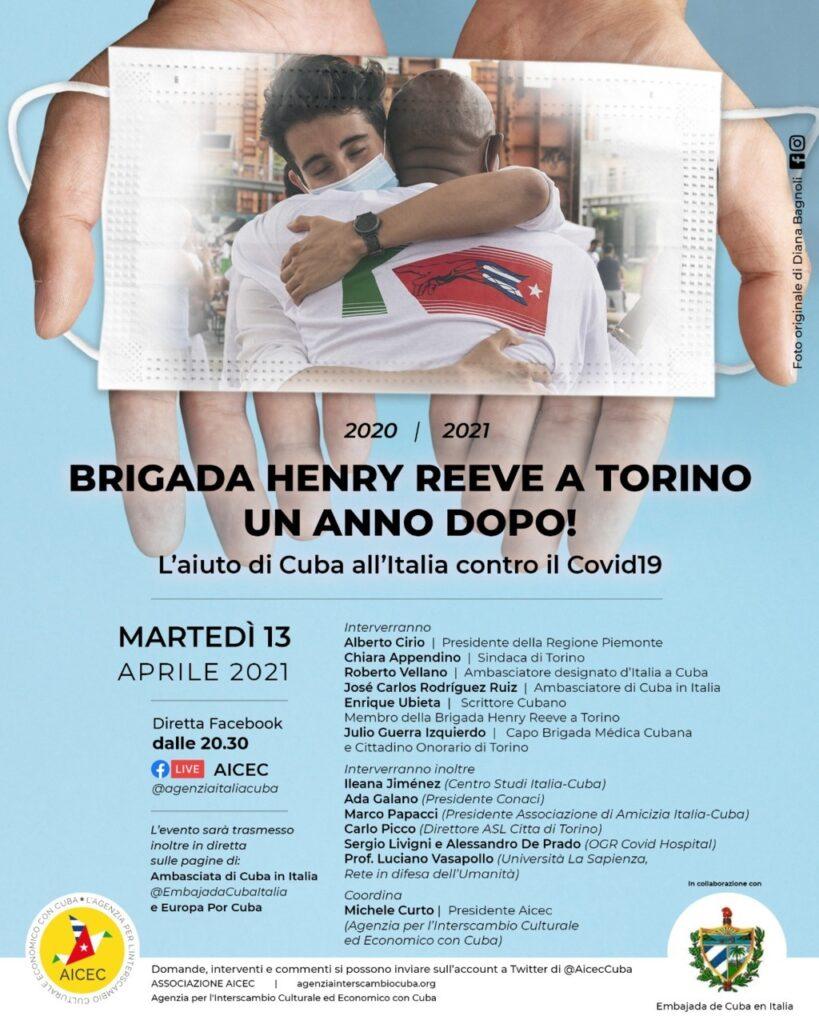 Torino - Brigata medica Henry Reeve