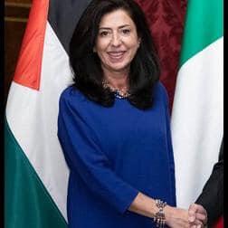 Ambasciatrice di Palestina