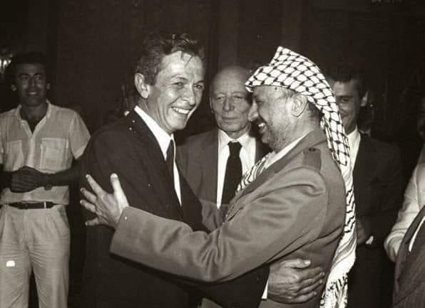 Berlinguer con Arafat