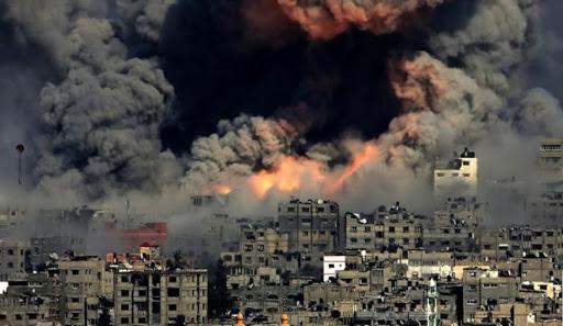Bombardamento su Gaza