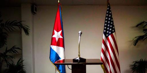 Sala diplomatica vuota