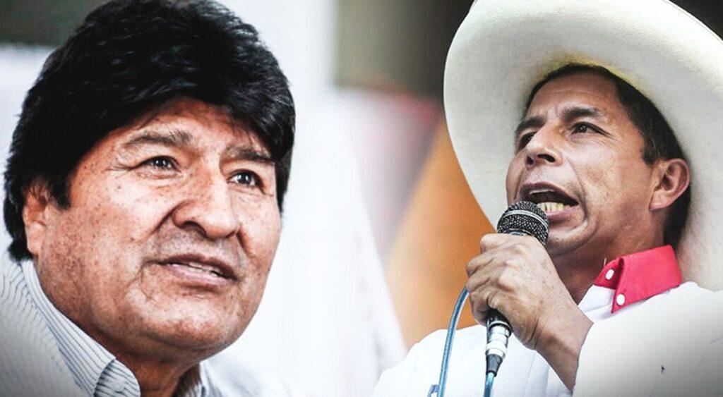 Evo Morales e Pedro Castillo