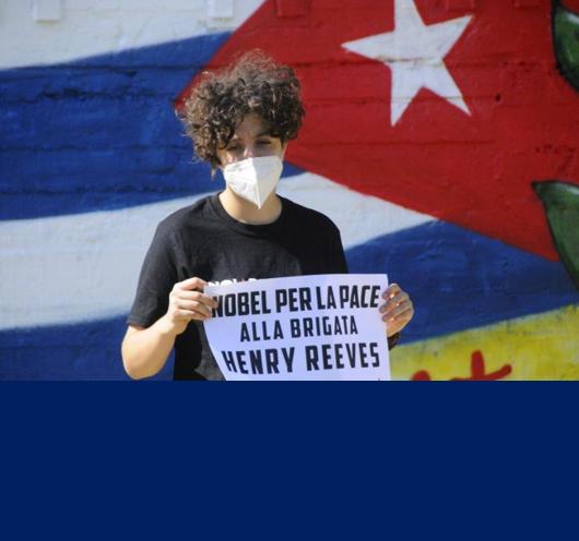 Foto Premio Nobel per la pace alla Brigata Henry Reeve