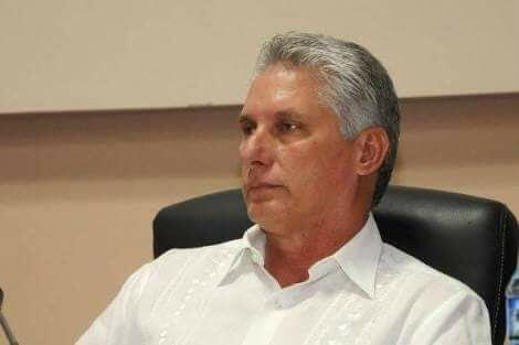 Miguel Diaz Canel, Presidente della Repubblica di Cuba