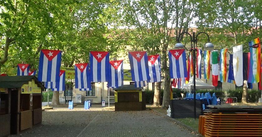 Viaggio nella Festa: PAESE OSPITE CUBA al Collegno Folk Festival 14° edizione – Brevi filmati dell'allestimento…