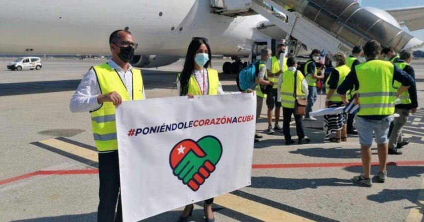 PARTITO DA MALPENSA L'AEREO CON LA DONAZIONE MEDICA PER CUBA