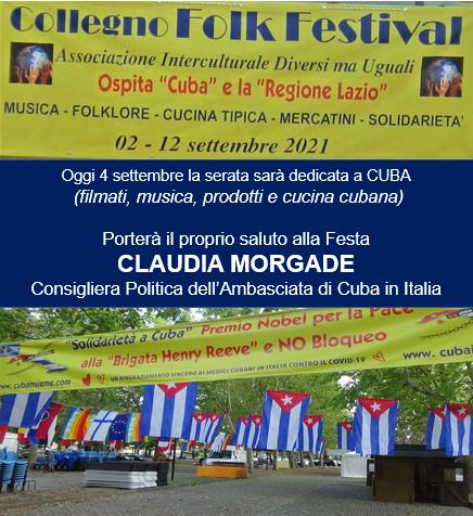 Manifesto del Folk Festival di Collegno