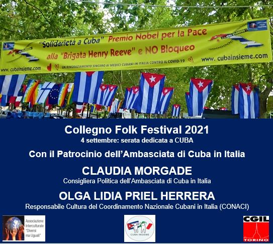 Festa dei Popoli - Collegno Folk Festival 2021