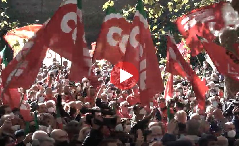 Roma la risposta all'aggressione neofascista